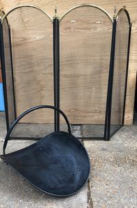 FIREPLACE SCREEN AND LOGS HOLDER OBO Jackson, 39209