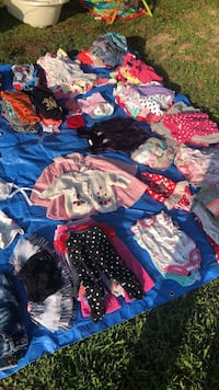 Baby girl clothes fill a Walmart bag for $2.50 Clarksville, 37042
