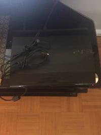 Black sony ps3 super slim console Toronto, M3N 1P1