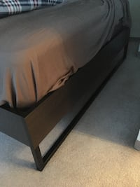 Trysil Bed & Base & 02 Nightstands - IKEA BRAND VANCOUVER