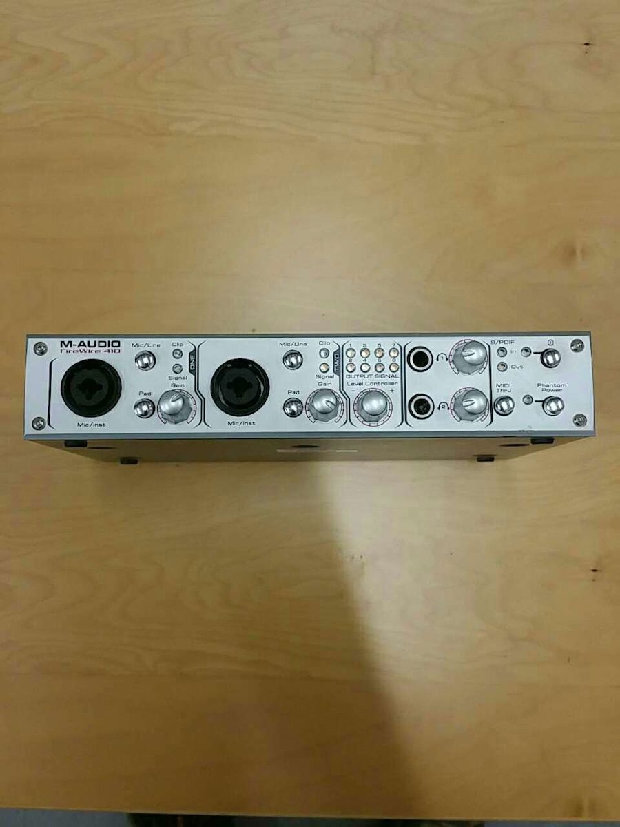 silver M-Audio device, used for sale  Ormond Beach