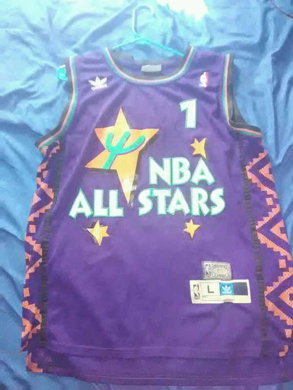new product 7726c 68aa3 NBA All Star Game Penny Hardaway Jersey #1