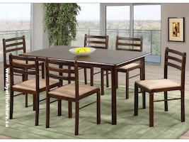 Brand new 7pcs Economical  Dinette Set