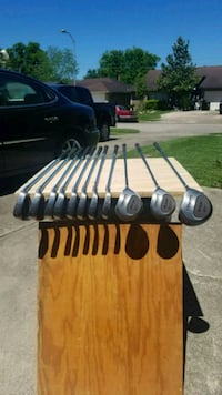 black and gray golf club set Friendswood, 77546