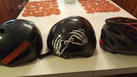 two black and gray bicycle helmets Waterford, 06385
