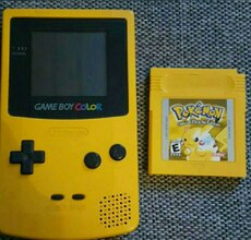 Gameboy color limited pikachu
