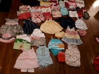 Baby girl lot of clothes 6-12 months 95+ pieces Brampton, L6Y 0K1