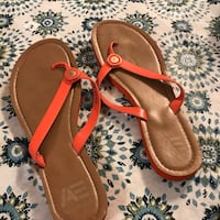 pair of brown leather sandals Jacksonville, 32244