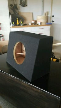 Slim 8 inch subwoofer truck box Rowland Heights