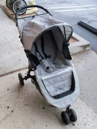 CITI MINI SINGLE STROLLER by Baby Jogger. Sandstone color Extremely lightweight  Huntington Beach
