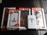 2 starwars portable chargers and 3 starwars cases  Jackson, 39209
