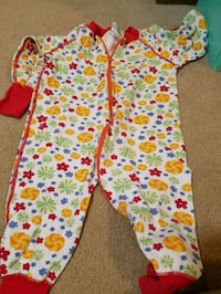 Hanna andersson romper baby sz 80