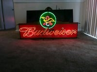 Budweiser neon sign Laurel
