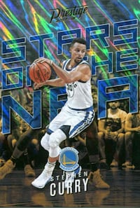 Warriors Stephen Curry card Lakewood, 90712