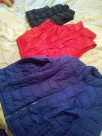 black and red gilets and purple bubble jacket Wyoming, 49509
