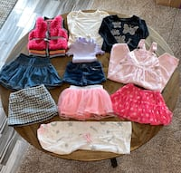NEW / LIKE NEW - Girls, Size 3T, Name Brand Clothing Lot