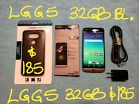 185FIRM LGG5 32GB +CASE+screen prot.+charger Pointe-Claire, H9R 1N9
