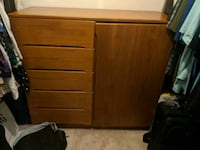 5 drawer dresser with swinging door Quincy, 02169