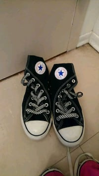 pair of black Converse All Star low-top sneakers Toronto, M6H