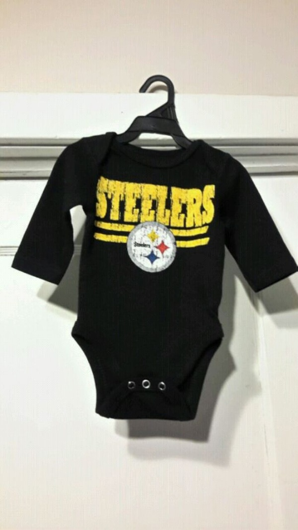 Steelers Baby Clothes Interesting Used Pittsburgh Steelers Baby Sleeper For Sale In London Letgo