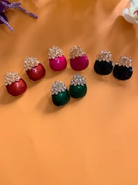 small earrings 5 colors in stock