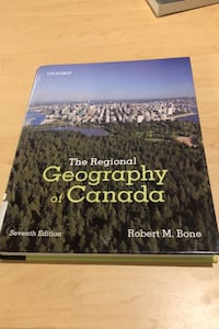 The Regional Geography of Canada 6th edition Calgary, T3M 0M1