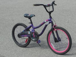 "ALMOST NEW AND BARELY USED GIRLS 20"" MONSTER HIGH BIKE $60.00 FIRM!"