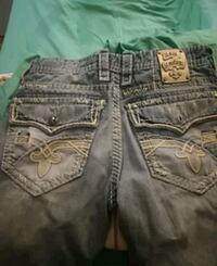 black denim True Religion jeans Louisville, 40220
