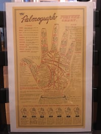 Palmography Poster Chicago, 60657