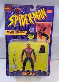($20) BRAND NEW 1995 SPIDERMAN NIGHT SHADOW