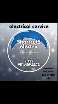 Electrical and wiring installation Moreno Valley, 92557