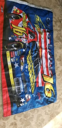Greg Biffle nascar flag..2 sided..65 inches in length  35 width Barrie, L9X