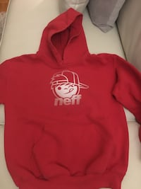 boys Neff red sweater in size small Ajax, L1S