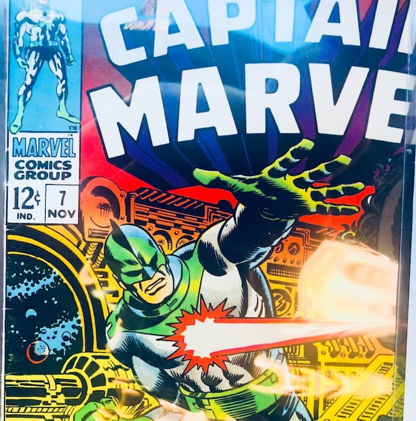 Captain marvel-1960's-6,7,8,12 4719ac91-2fc4-4341-992a-aef8c670f8f6