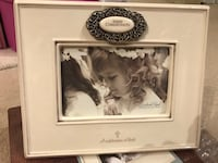 White and black ceramic photo frame Hamilton, L9C 2X5