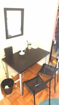 IKEA Desk with 2 design chair   Washington, 20016