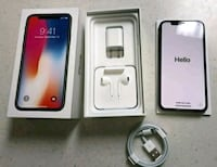 space gray iPhone 6 with EarPods and charger Delta, 43515