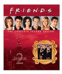 Friends: The Complete Season - 2 Blu-Ray - New Kent, 44240