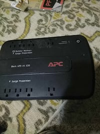 Apc 550 battery back up and surge protector