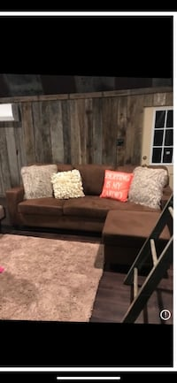 brown and black sectional couch Hillview, 40229