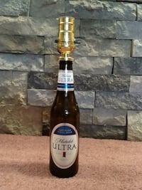 Customizable beer bottle lamp