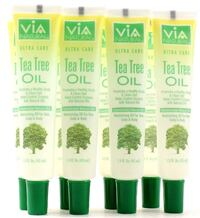 8 Via Natural Ultra Care Tea Tree Oil Moisturizing Oil For Hair Scalp & Body 1.5 oz Las Vegas