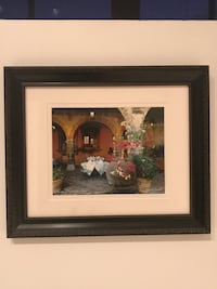 Framed and matted photography