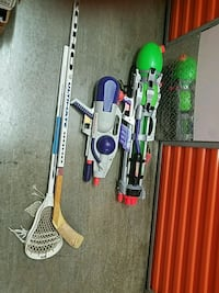 Kids water guys and hockey stick logo ultimate and Brooklyn, 11207
