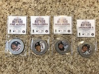 Houston astros collection series 39 mm minted coins Sugar Land, 77498