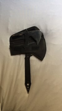 Black throwing axe with sheath Agoura Hills, 91301