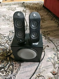 black and gray home theater system Winnipeg, R3G 2M2