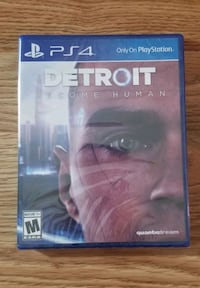 Detroit become human for ps4 playstation 4 Chantilly