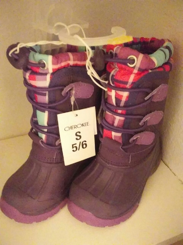 8c244a0305e6 Used New cherokee girls boots size 5 6 for sale in Kansas City - letgo