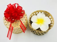 Floral Soap Gift Baskets (Aromatherapy Handmade Gift Basket, Floral Scents) Centreville